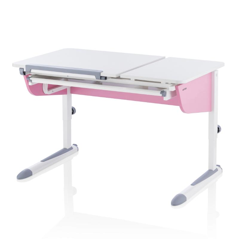 98140169535e Dětský rostoucí psací stůl KETTLER LOGO DUO X růžová. W10202-2020